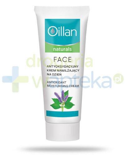 Oillan Naturals antyoksydacyjny krem nawilżający do twarzy 50 ml