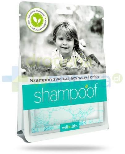 Shampoof szampon zwalczający wszy i gnidy 2x 40 ml  whited-out