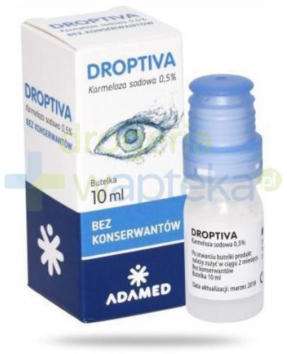 Droptiva 0,5% krople do oczu 10 ml  [Data ważności 31-10-2020]