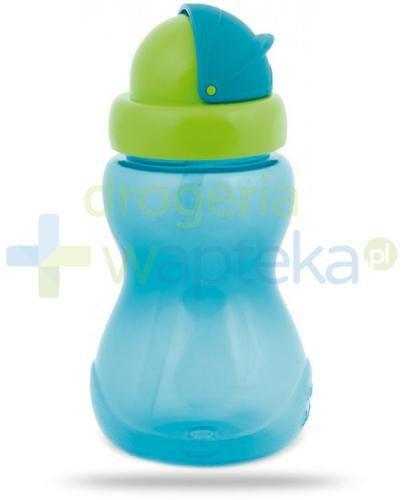 Canpol Babies bidon sportowy ze składaną rurką dla dzieci 12m+ niebieski 270 m...