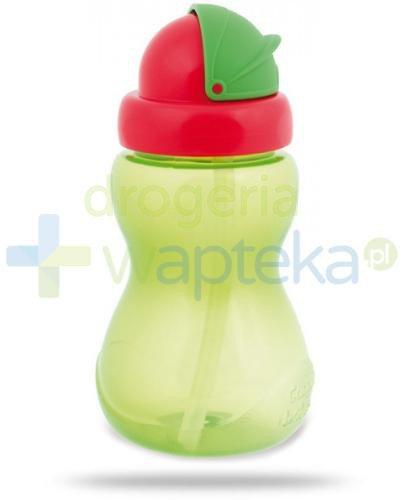 Canpol Babies bidon sportowy ze składaną rurką dla dzieci 12m+ zielony 270 ml [56/109_g...