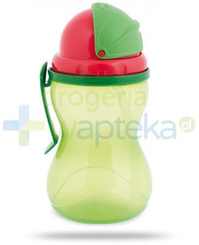 Canpol Babies bidon ze składaną rurką dla dzieci 12m+ zielony 370 ml [56/113_gre]