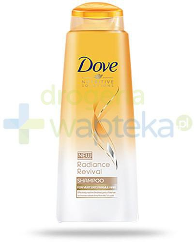 Dove Nutritive Solutions Radiance Revival szampon 400 ml  whited-out