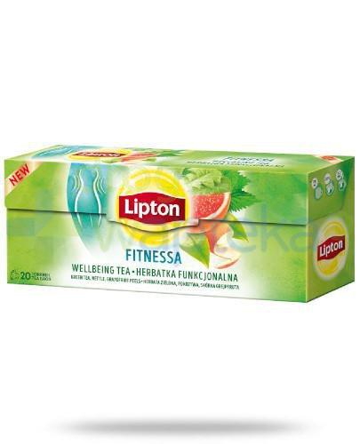Lipton Fitnessa Herbatka funkcjonalna 20 torebek [KUP 3 dowolne produkty Lipton = szklanka...