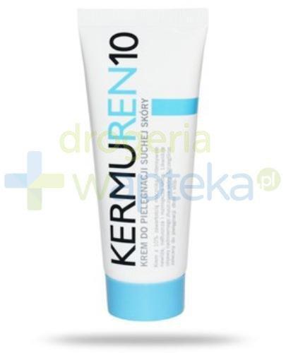 Cerkoderm 10 Krem z mocznikiem do skóry suchej szorstkiej łuszczącej się 75 ml