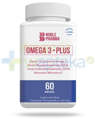 Noble Pharma Omega 3 Plus 60 kapsułek