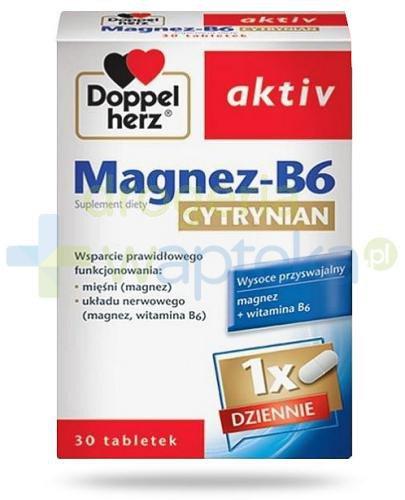 Doppelherz aktiv Magnez-B6 cytrynian 30 tabletek