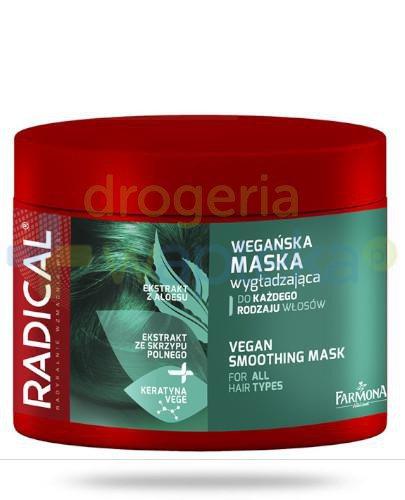 Farmona Radical Wegańska maska wygładzająca do każdego rodzaju włosów 300 ml