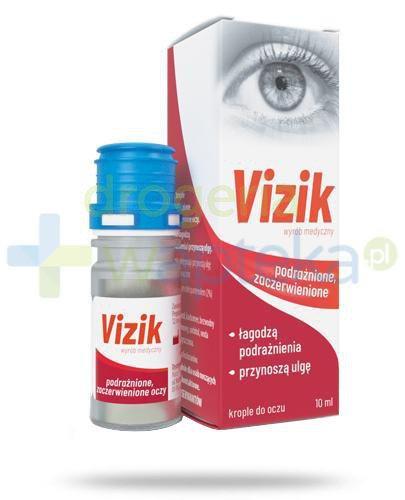 Vizik krople na podrażnione i zaczerwienione oczy 10 ml