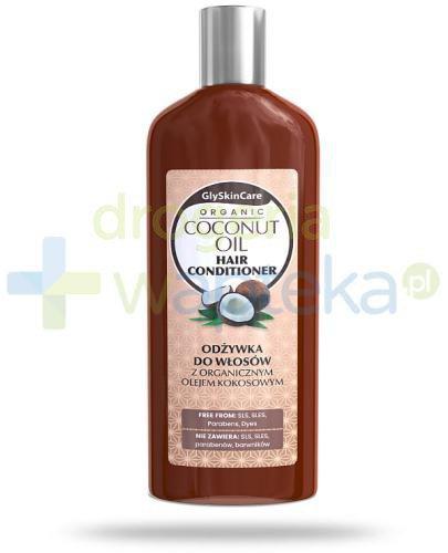 GlySkinCare Coconut Oil odżywka do włosów z organicznym olejem kokosowym 250 ml