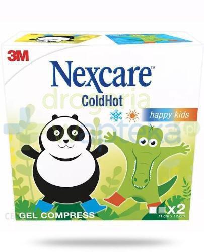 Nexcare ColdHot żelowy kompres 11x12cm 2 sztuki