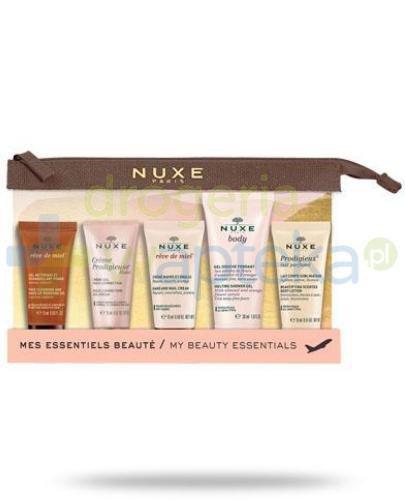 Nuxe kosmetyczka podróżna + 5 mini produktów [ZESTAW]