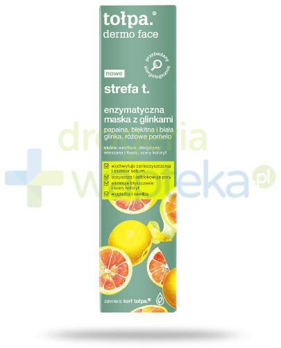 Tołpa Dermo Face strefa t. enzymatyczna maska z glinkami 40 ml
