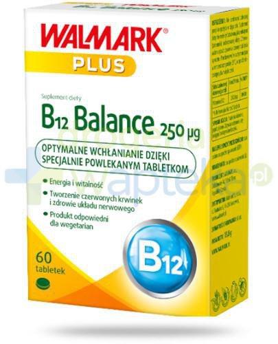 Walmark Plus B12 balance 250 µg