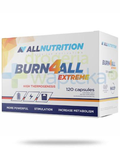 Allnutrition Burn4all Extreme 120 kapsułek