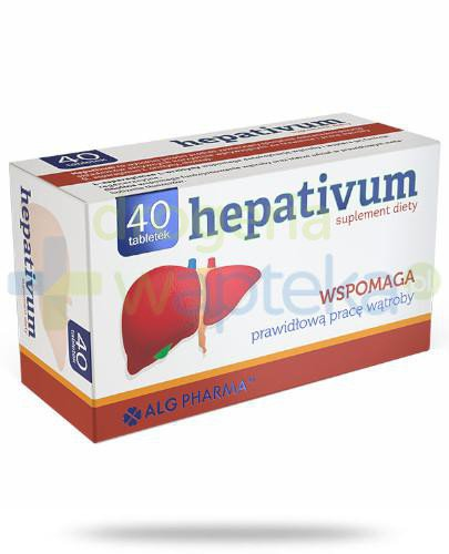 Alg Pharma Hepativum 40 tabletek