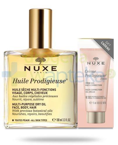 Nuxe Huile Prodigieuse suchy olejek do pielęgnacji twarzy, ciała i włosów 100 ml + Cre...  whited-out