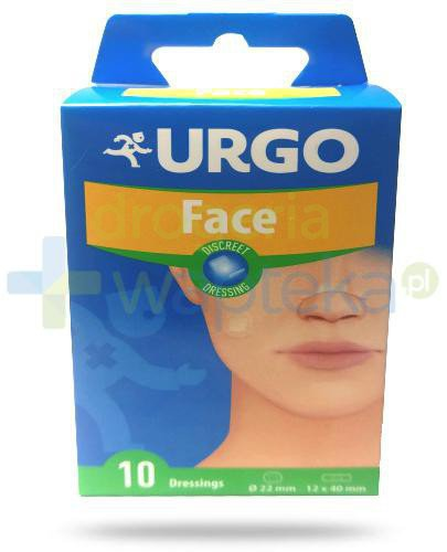 Urgo Face plastry przezroczyste do twarzy 10 sztuk