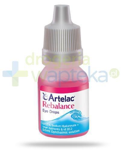 Artelac Rebalance krople do oczu 10 ml