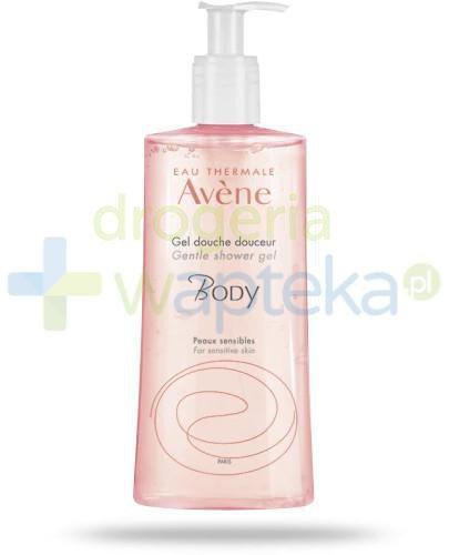 Avene Body łagodny żel pod prysznic 500 ml