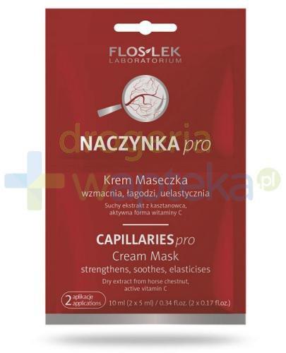 Flos-Lek Naczynkowa krem maseczka 2x 5 ml