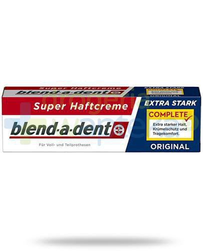 Blend-A-Dent Extra Stark Original klej do protez zębowych 47 g