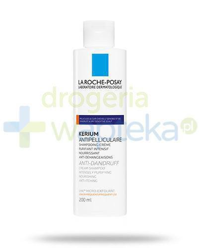 La Roche Posay kerium szampon przeciwłupieżowy (łupież suchy) 200 ml
