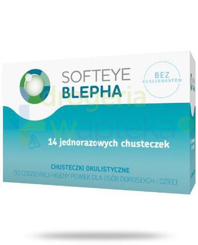 Softeye Blepha chusteczki okulistyczne 14 sztuk