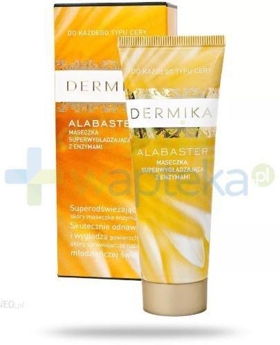 Dermika Alabaster maseczka superwygładzająca z enzymami 50 ml