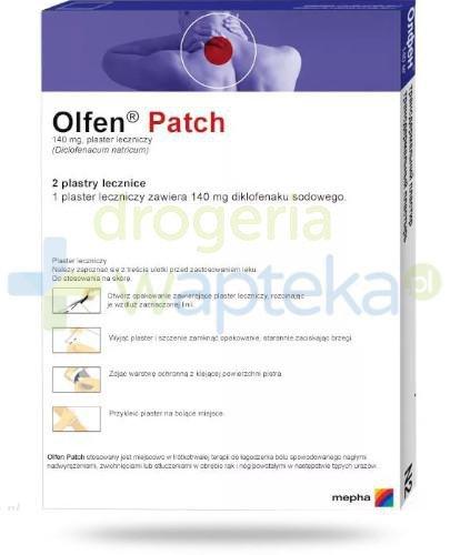 Olfen Patch plaster leczniczy 2 sztuki
