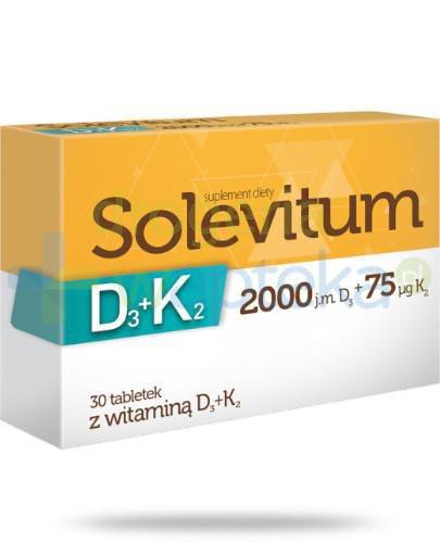 Solevitum D3+K2 2000j.m. 30 tabletek