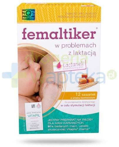 Femaltiker 12 saszetek + Vitapil Mama 4 tabletki [ZESTAW]