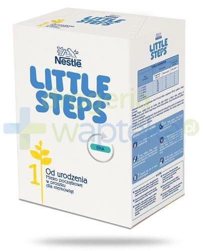 Nestle Little Steps 1 Mleko początkowe w proszku dla niemowląt 600 g