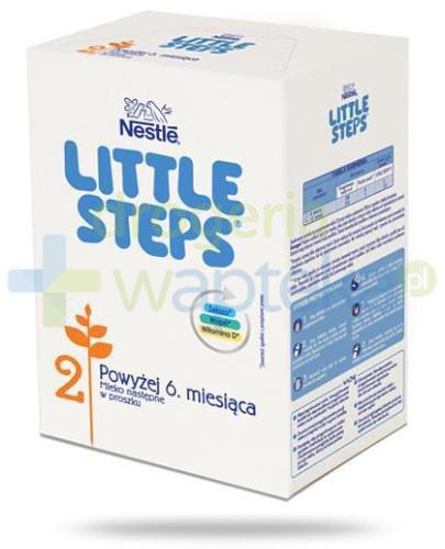 Nestle Little Steps 2 Powyżej 6 miesiąca Mleko następne w proszku dla niemowląt 600 g