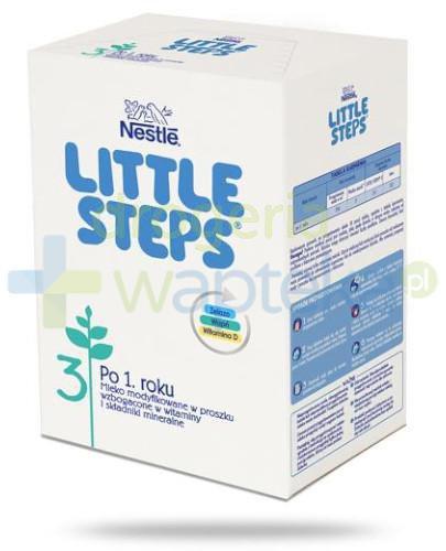 Nestle Little Steps 3 po 1 roku Mleko w proszku wzbogacone w witaminy i składniki mineral...