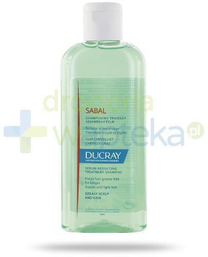 Ducray Sabal szampon redukujący wydzielanie sebum 200 ml