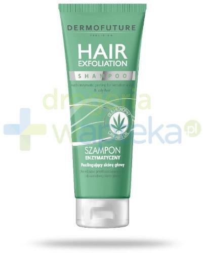 Dermofuture Hair Exfoliation szampon enzymatyczny peelingujący skórę głowy 200 ml