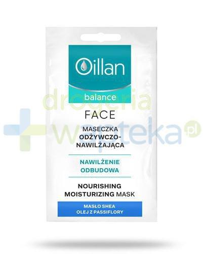 Oillan Balance Face maseczka odżywczo-nawilżająca 2 x 5 ml