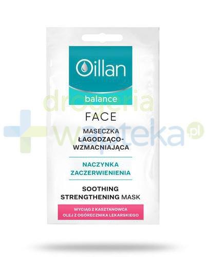 Oillan Balance Face maseczka łagodząco-wzmacniająca 2 x 5 ml + Maseczka łagodząco-wzm...