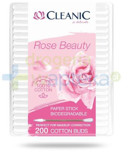 Cleanic Rose Beauty patyczki kosmetyczne 200 sztuk