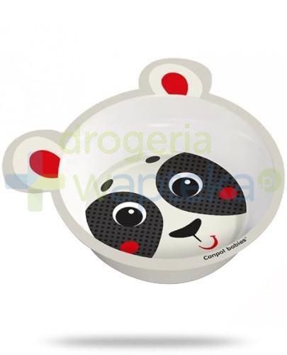 Canpol Babies miseczka antypoślizgowa z melaminy z uszami 1 sztuka [4/520_bei]