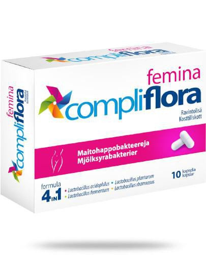Compliflora femina 10 kapsułek