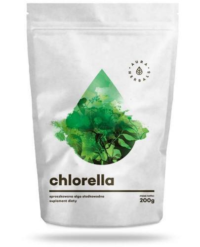 Aura Herbals Chlorella proszek 200 g