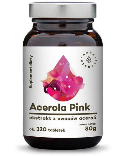 Aura Herbals Acerola Pink 320 tabletek (80g)