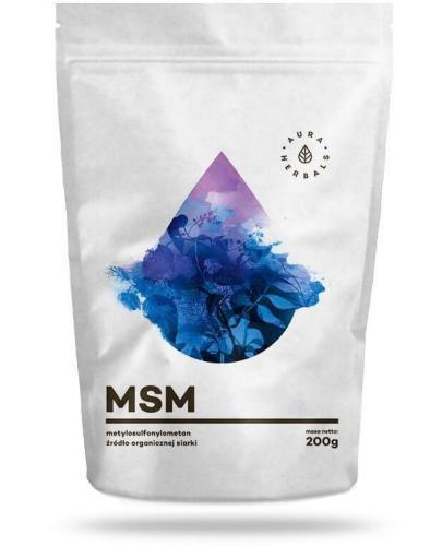 Aura Herbals MSM Organiczny Związek Siarki 200 g