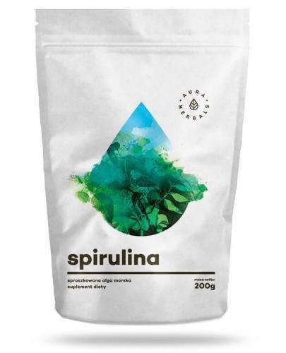 Aura Herbals Spirulina proszek 200 g