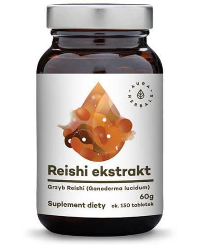 Aura Herbals Reishi ekstrakt 150 tabletek (60g)
