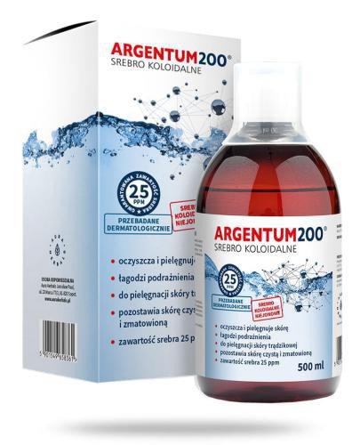 Aura Herbals Argentum200 Srebro Koloidalne 25 ppm tonik 500 ml