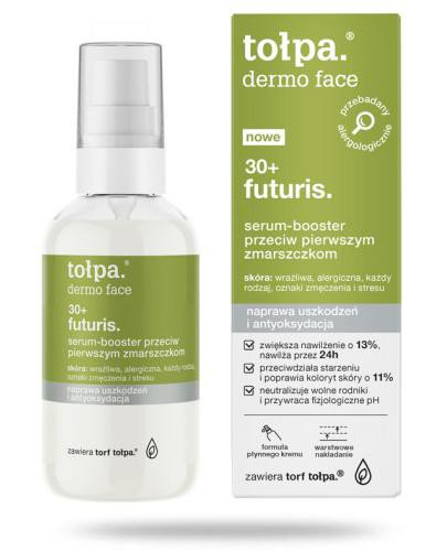 Tołpa Dermo Face Futuris 30+ serum-booster przeciw pierwszym zmarszczkom 75 ml