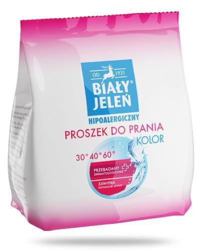Biały Jeleń Kolor hipoalergiczny proszek do prania 850 g